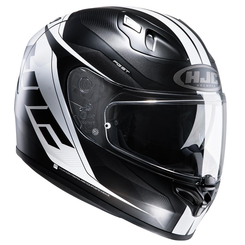 HJC FG-ST Crono Black Adult Helmet