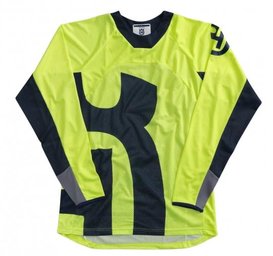Husqvarna Railed Shirt Yellow