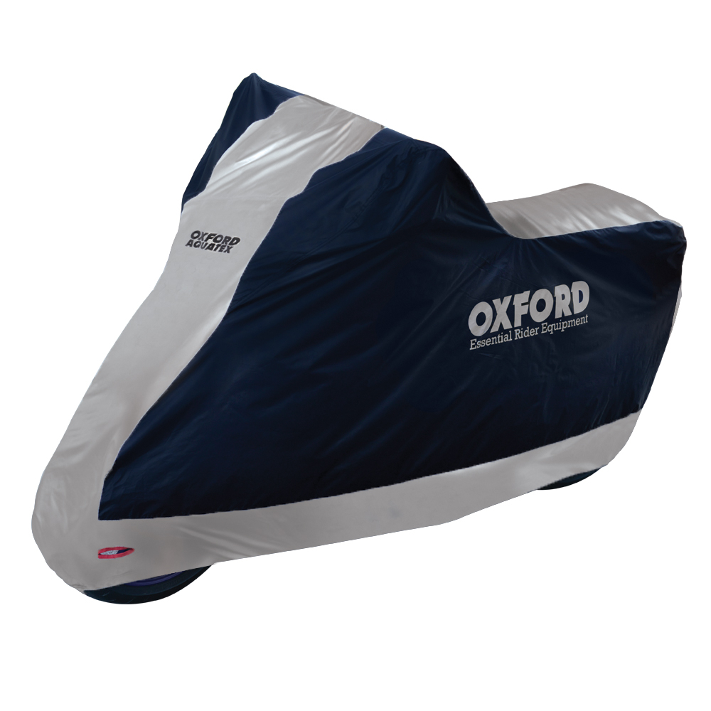 Oxford Products Aquatex Motorcycle Bike Cover (Large)