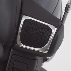 Big Bike Parts Rear Speaker Chrome Accent
