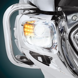 Big Bike Parts Tridium L.E.D Fog Light Kit image