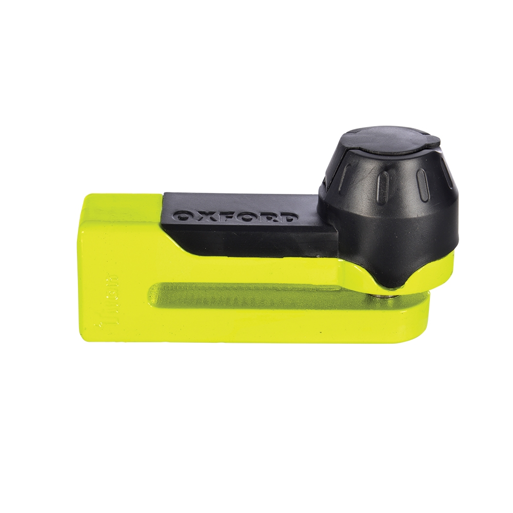 Oxford Products Titan yellow Disc-Lock & Pouch