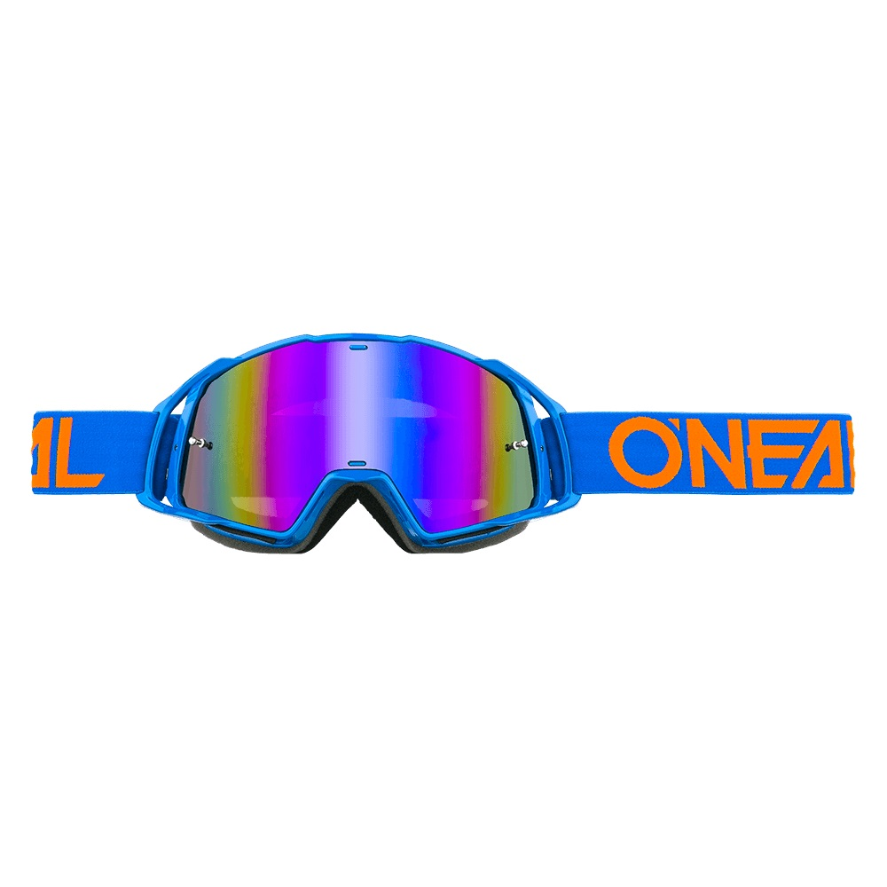 ONEAL B-20 Goggle FLAT Blue/Orange - Radium