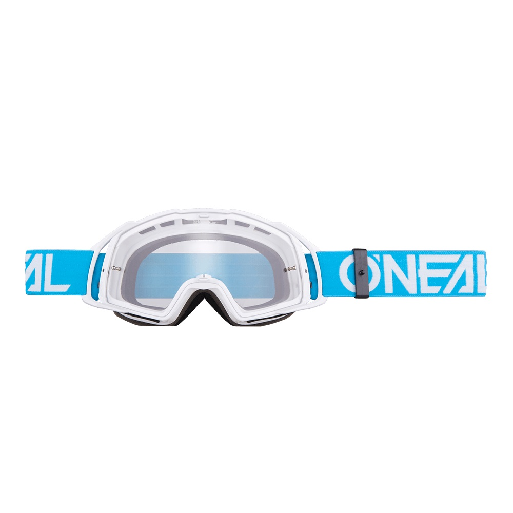ONEAL B-20 Goggle FLAT Teal/White - Clear