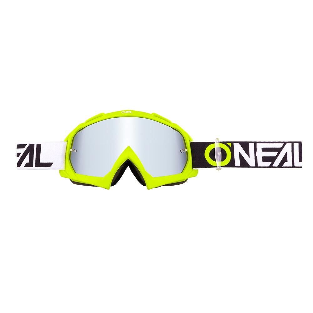 ONEAL B-10 Goggle TWOFACE Hi-Viz - Mirror Silver