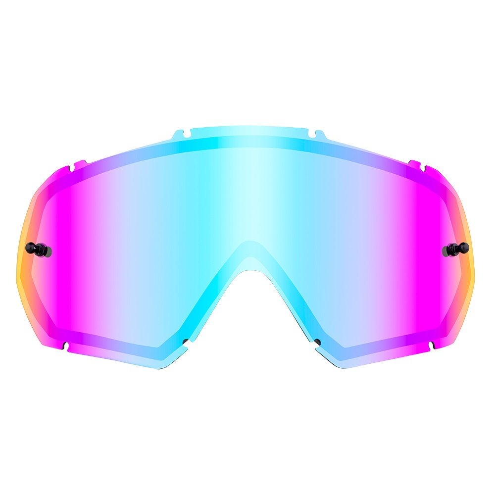 ONEAL B-10 Goggle Spare Double Lens - Radium Blue