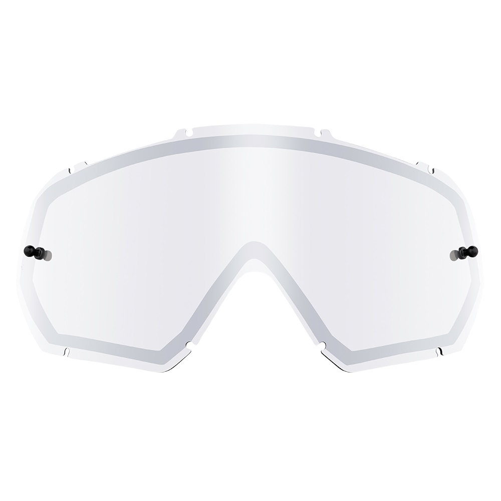 ONEAL B-10 Goggle Spare Double Lens - Silver Mirror