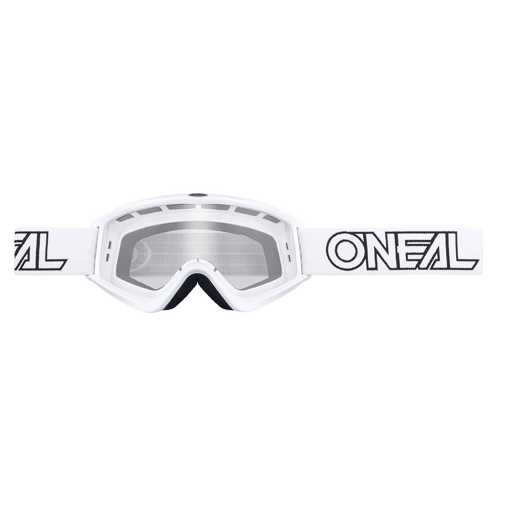 ONEAL B-ZERO Goggles Black/White/Neon Yellow/Orange/Green