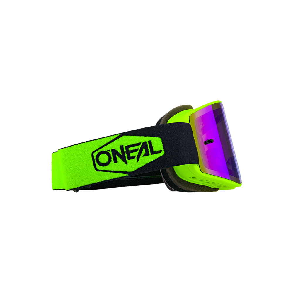 ONEAL B-20 Plain Goggles (Yellow/Black/Blue)