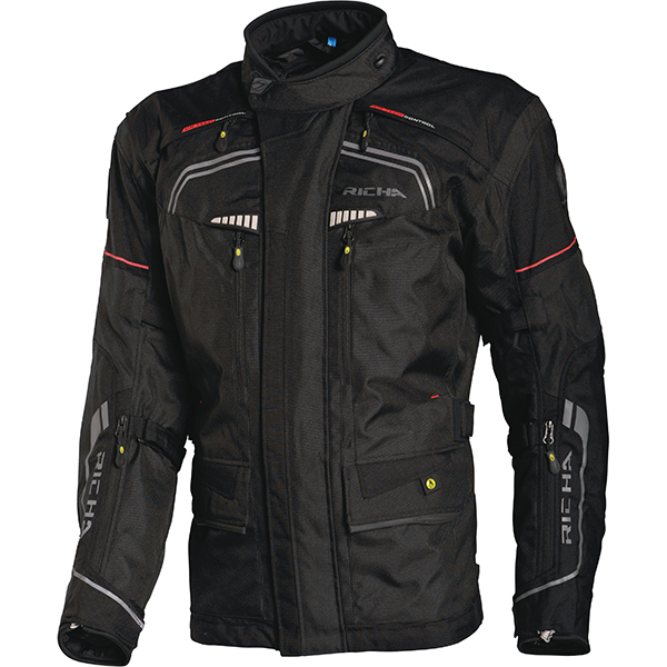 Richa Infinity Men's Textile Jacket - Black image