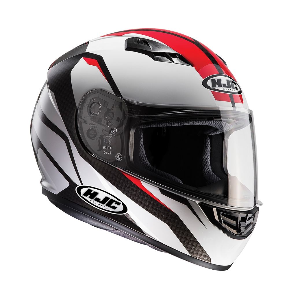 HJC CS-15 SEBKA Red Full Face Helmet