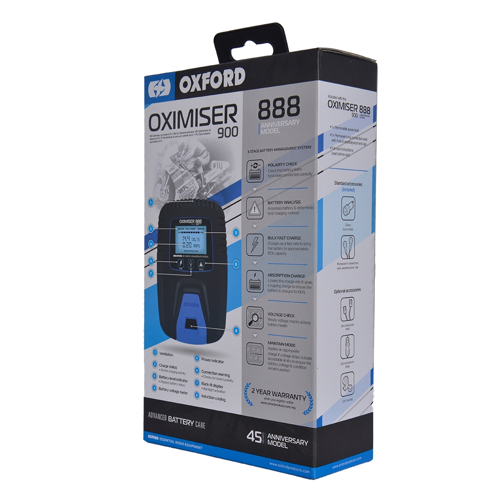 Oxford Products Oximiser 3X Advanced Battery Management System