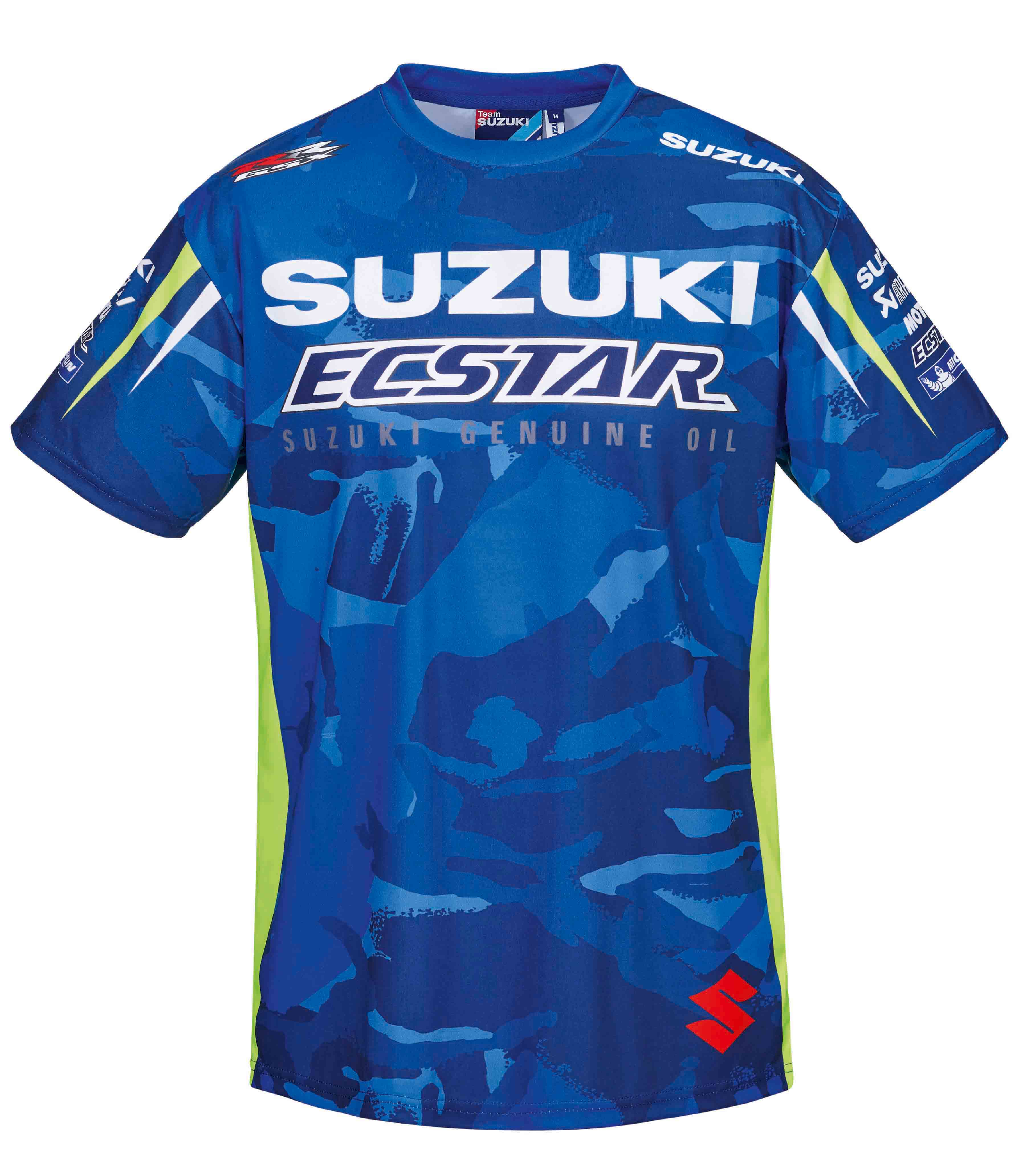 Moto GP Suzuki Team T-Shirt Sublimated Print