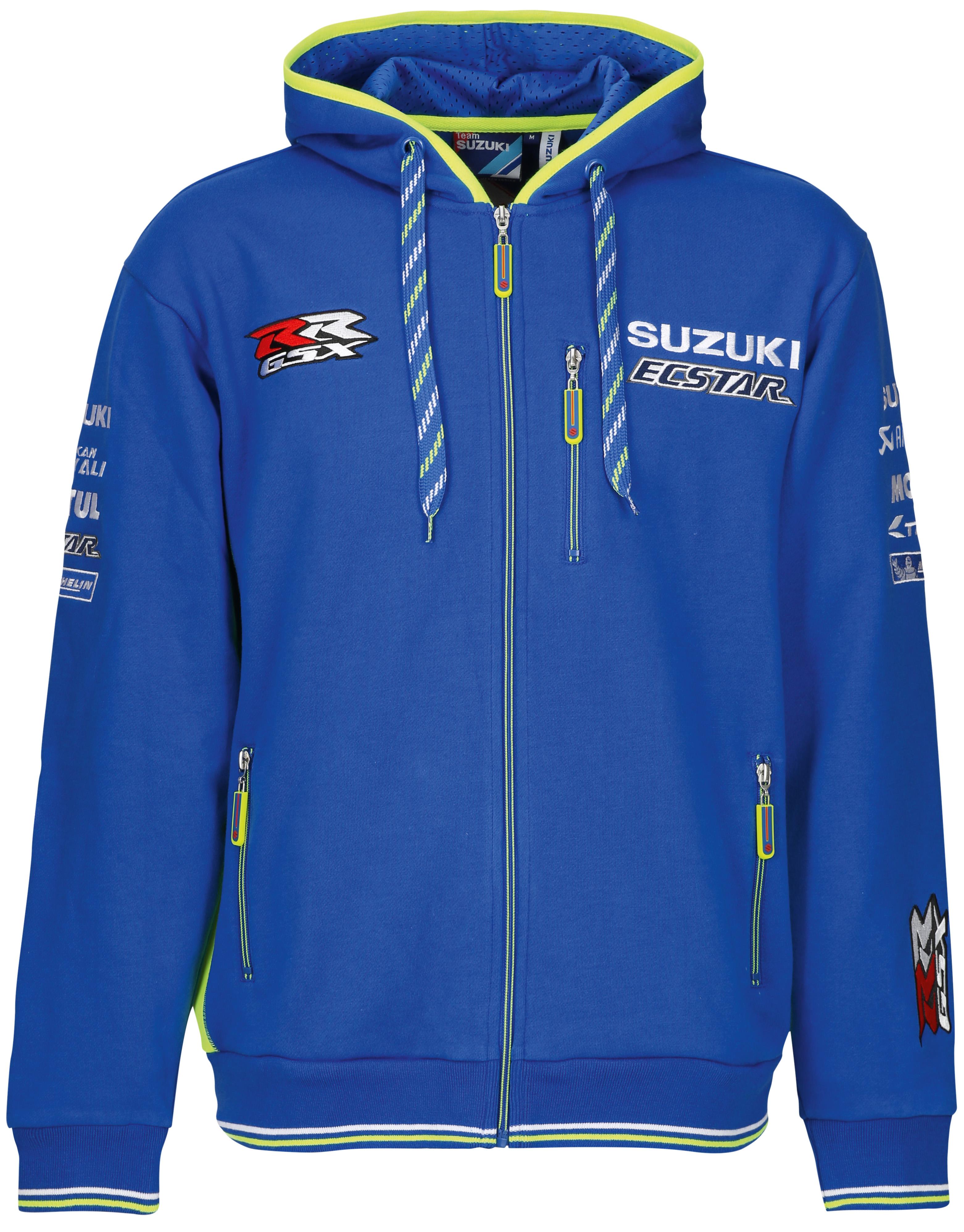 Moto GP Suzuki Team Hoodie