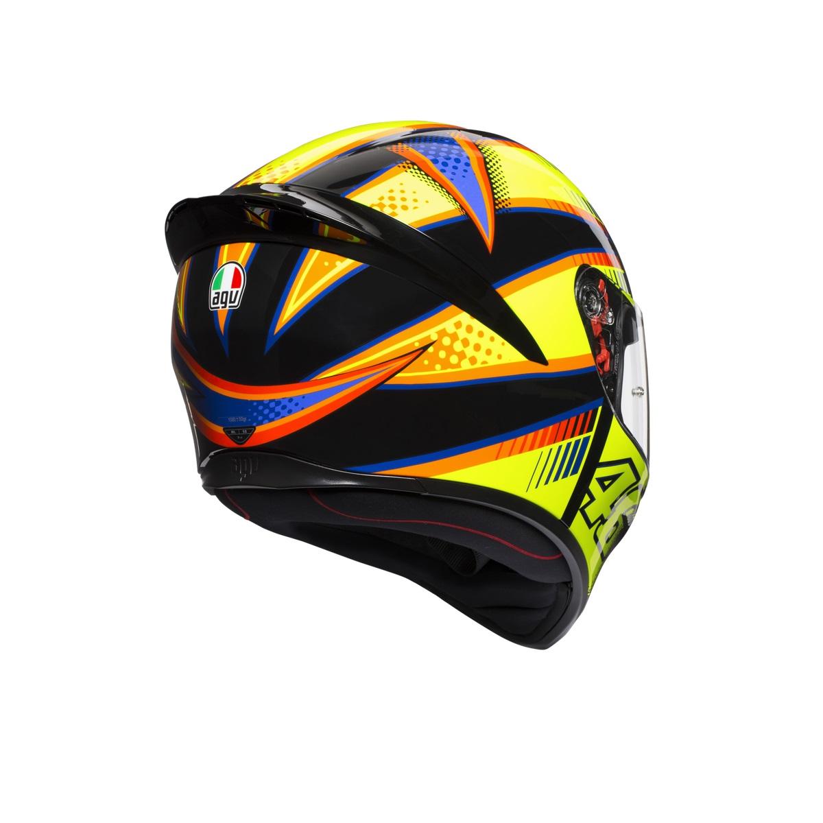 AGV K1 Soleluna 2015 Motorcycle Helmet Rossi