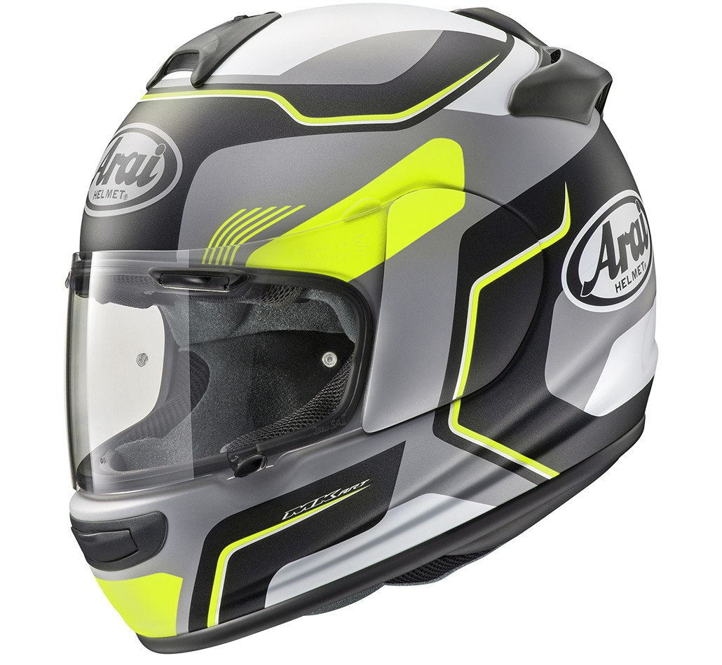 Arai Axces-3 Helmet Sense Fluor Full Face Motorcycle Helmet