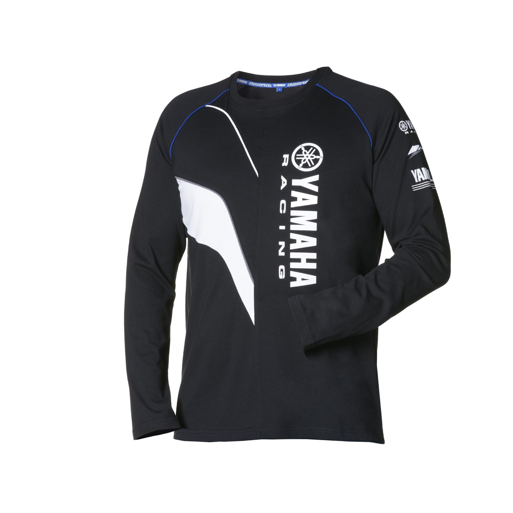 Yamaha Paddock Black long sleeve T Shirt
