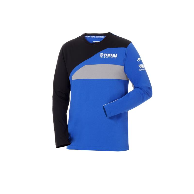 Yamaha Paddock Long Sleeve T Shirt