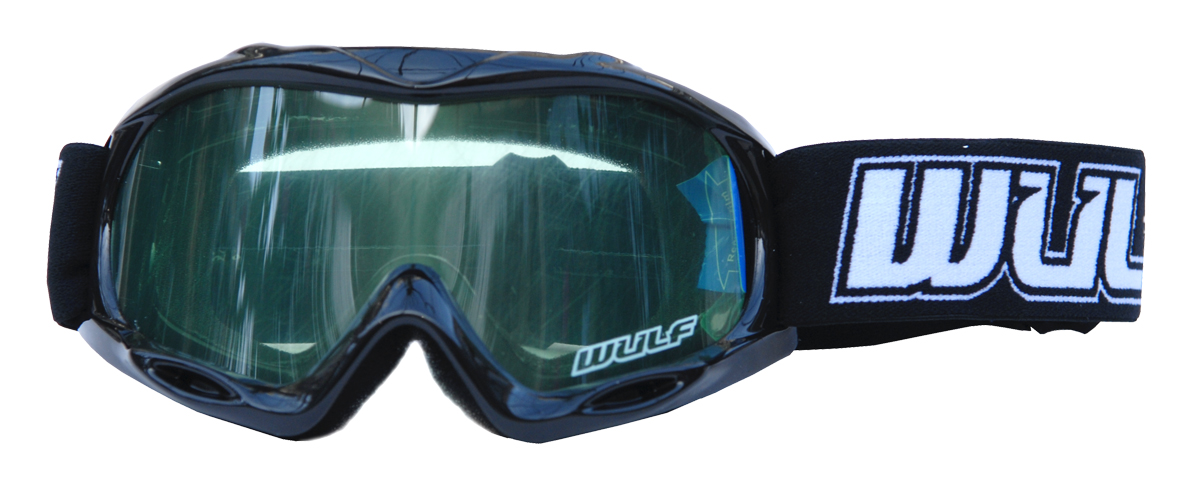 Wulfsport Goggle Kids Blue/Red/Grey/Black