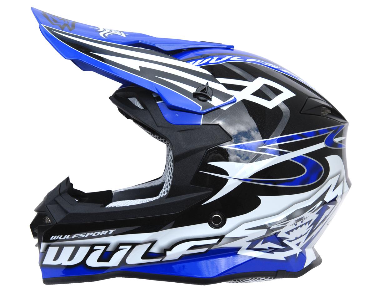 Wulfsport Sceptre Helmet Black/Blue