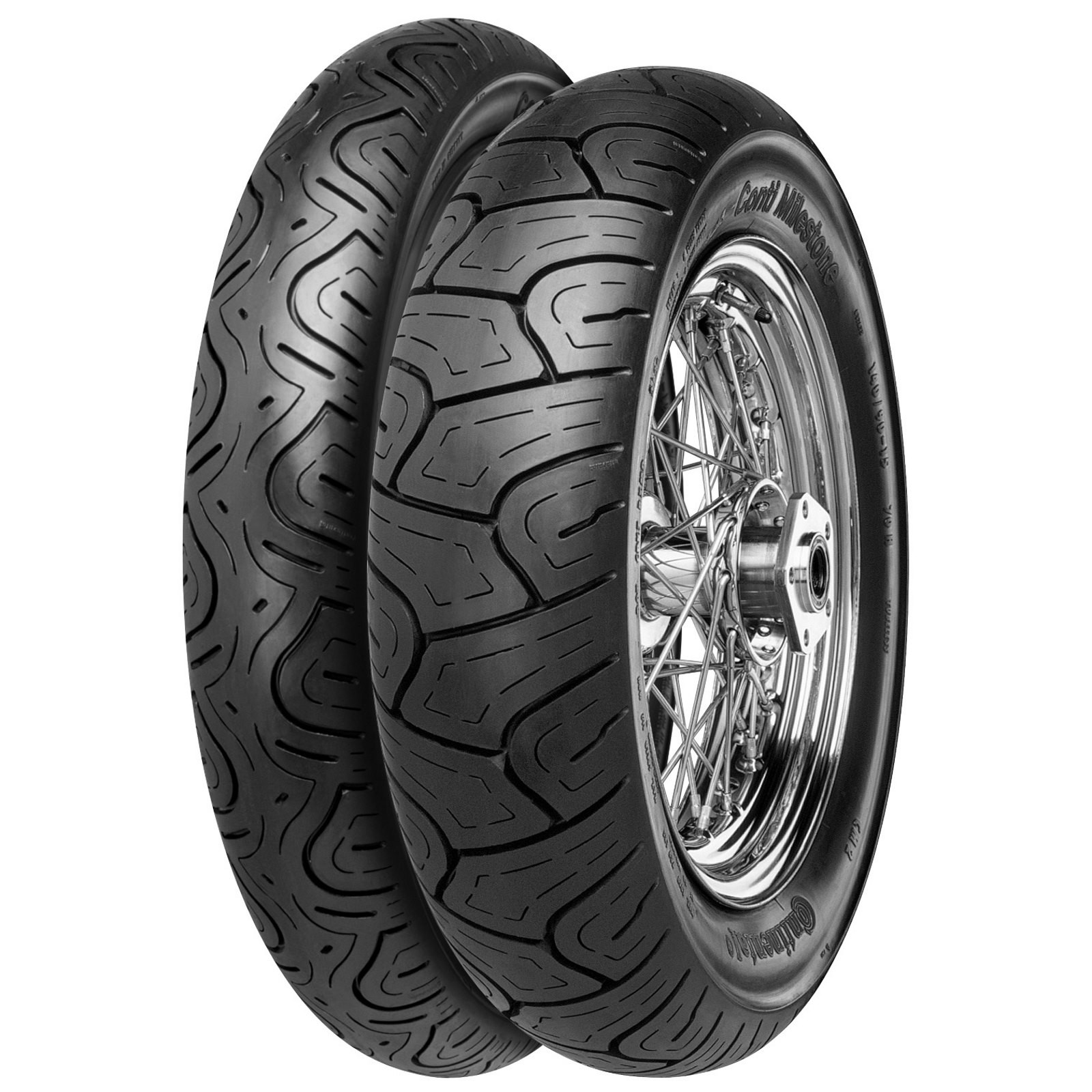 Continental Milestone Tyre CM1 300P18 Front Motorcycle Tyre