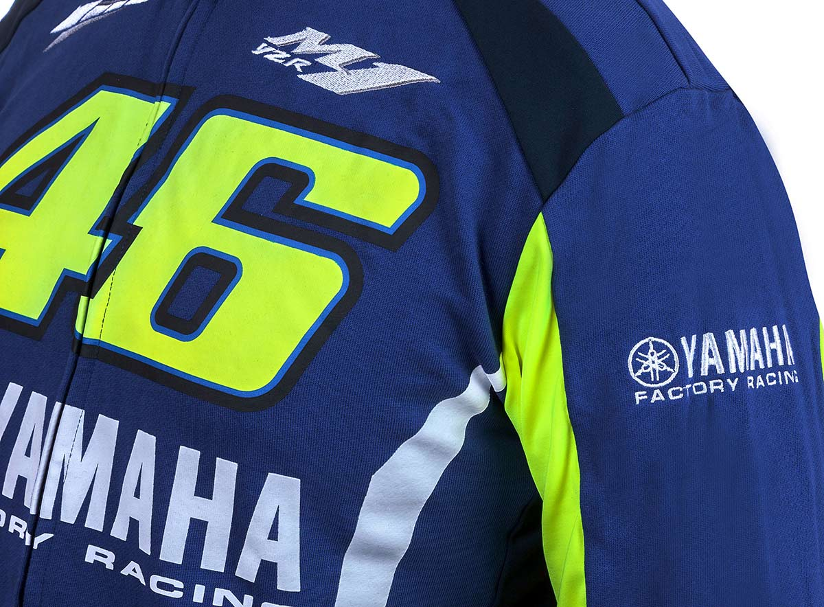 Yamaha Valentino Rossi VR46 Fleece Jacket