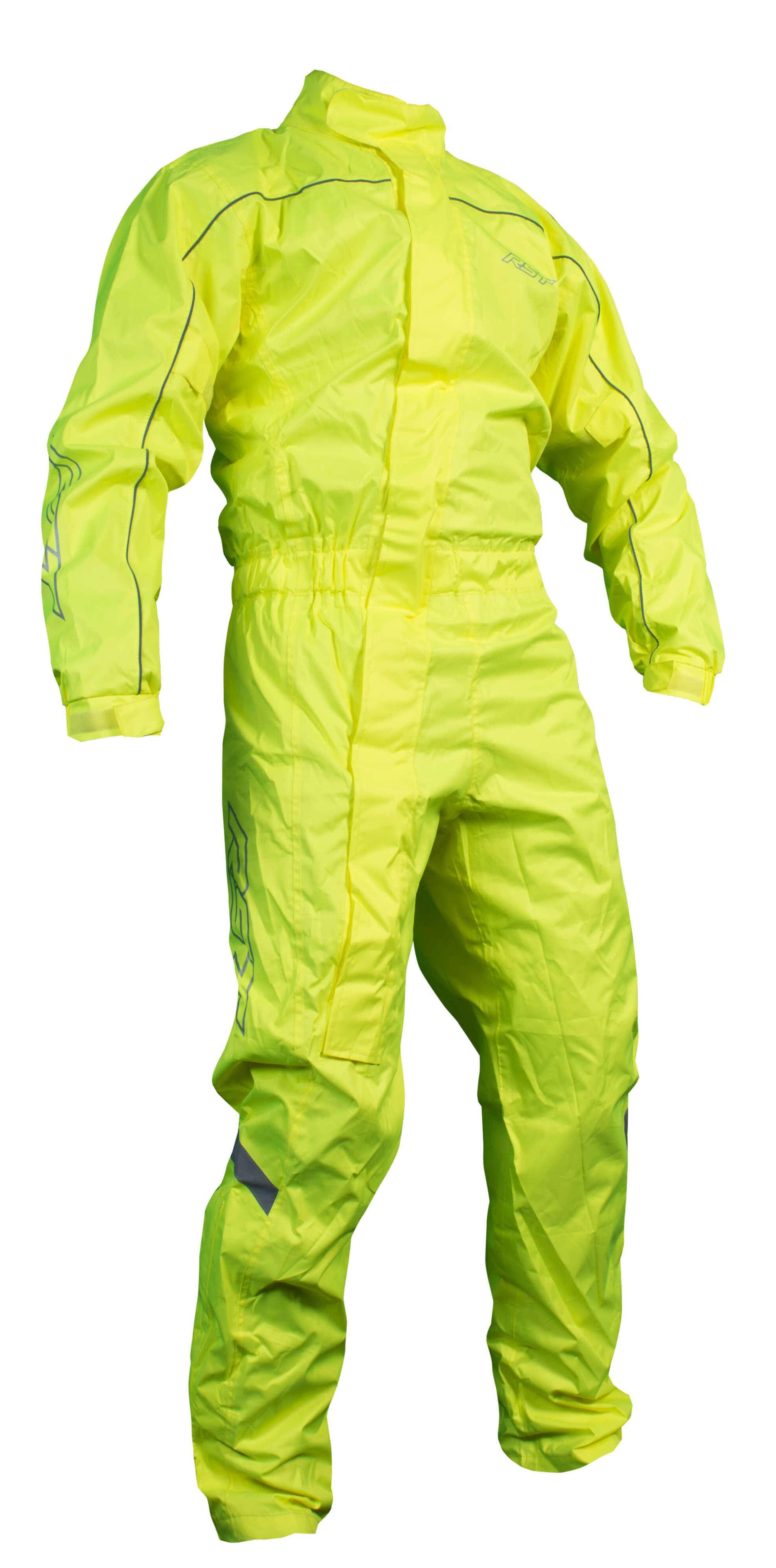 RST Waterproof One Piece Motorcycle Suit (Hi-Viz)