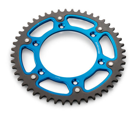 Husqvarna 2K Rear Sprocket Blue & Black