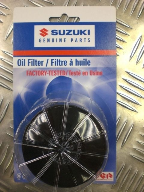 Genuine Suzuki Oil Filter 16510-07J00