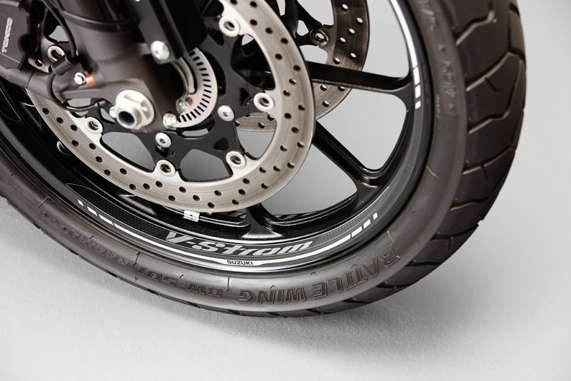 Suzuki V-STROM DL1000 2014 Wheel Graphics Front