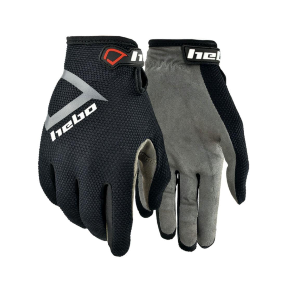 Hebo Nano Pro III Trials Gloves (Black)
