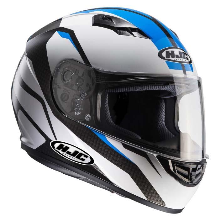 HJC CS-15 SEBKA Blue Full Face Helmet