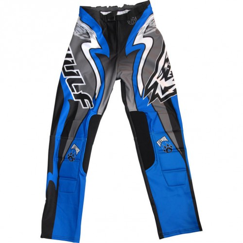 Wulf Cub Trials Pants Red/Blue/Black