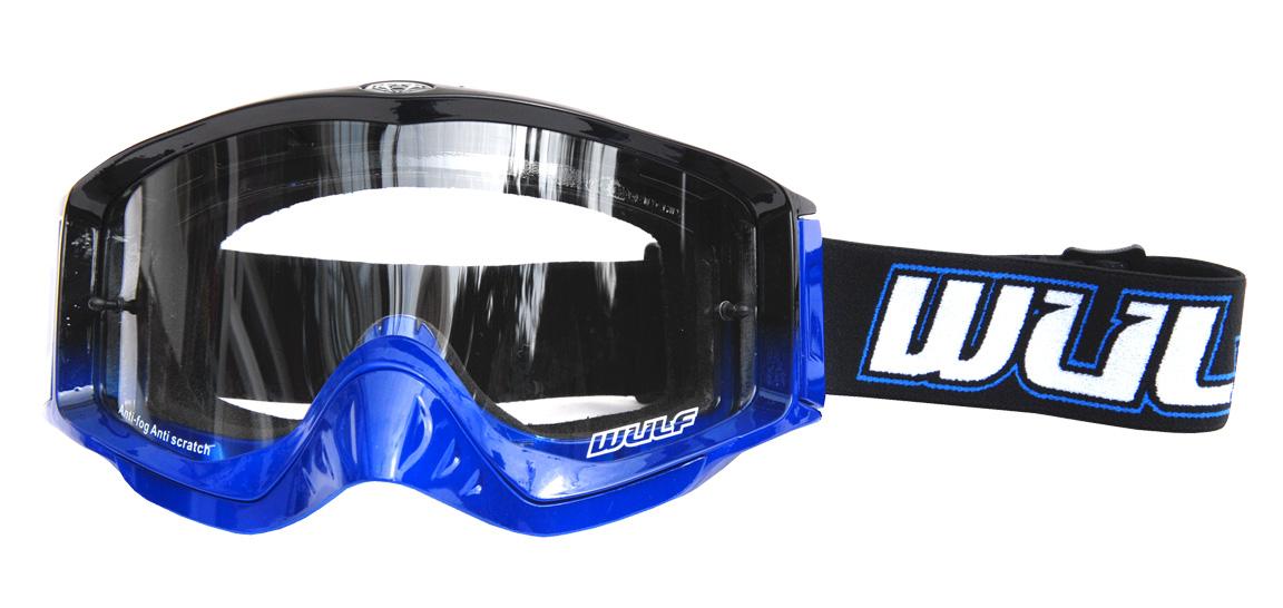 Wulfsport Shade Goggle Adult Blue/Red/Grey/Orange/Black