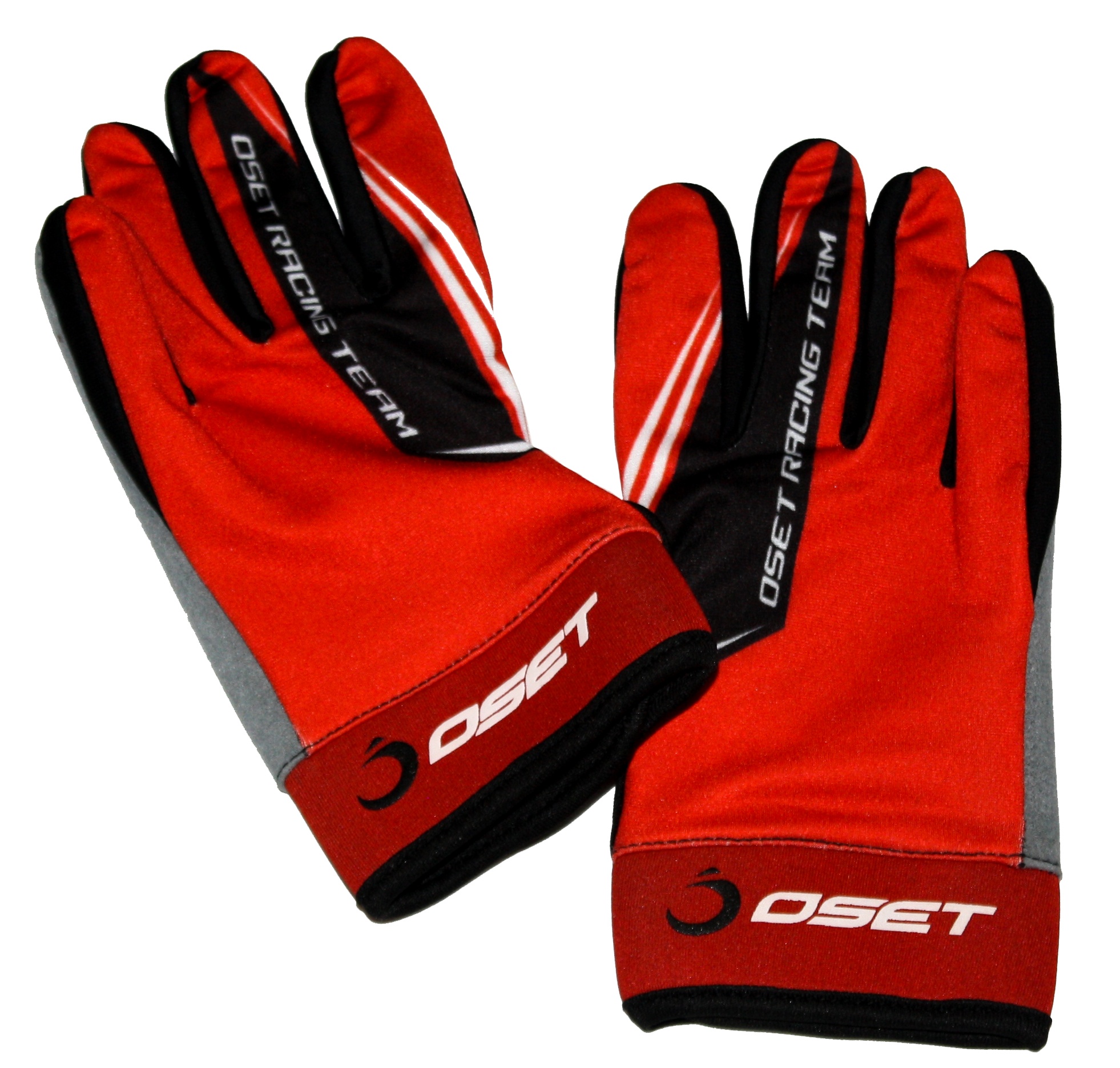 Oset Elite Riding Glove Black/Red