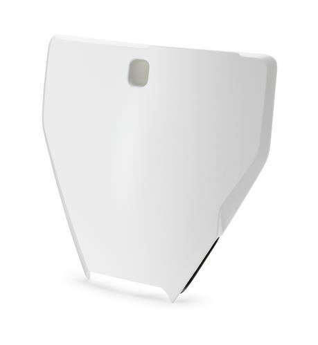 Genuine Husqvarna Start Number Plate White