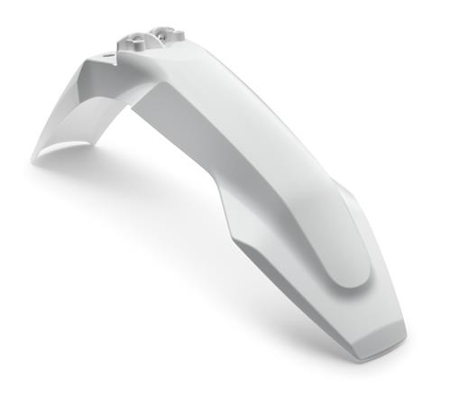 Husqvarna Font Fender White