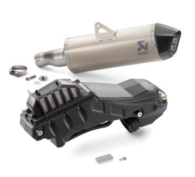 "Husqvarna 701 Akrapovic kit ""Slip-on Line"" Exhaust 17-18"