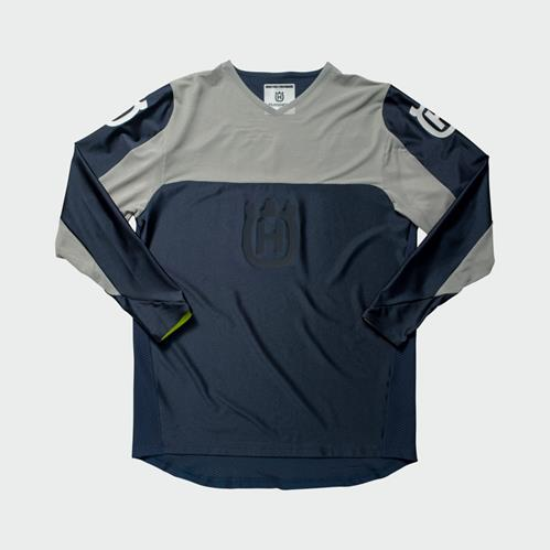 Husqvarna Railed Shirt Blue/Grey