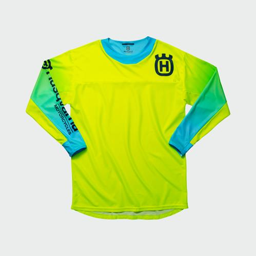 Husqvarna Gotland Shirt Blue/Yellow