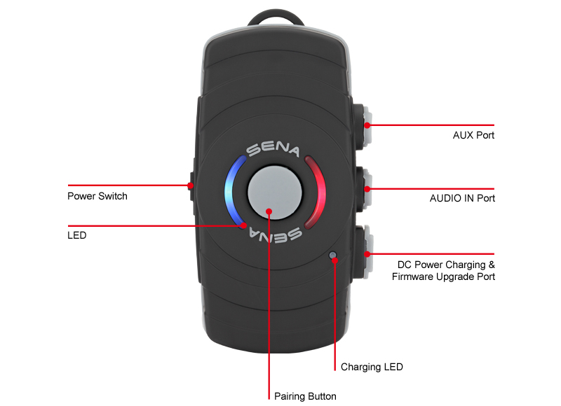 Sena SM10 Bluetooth Communication System