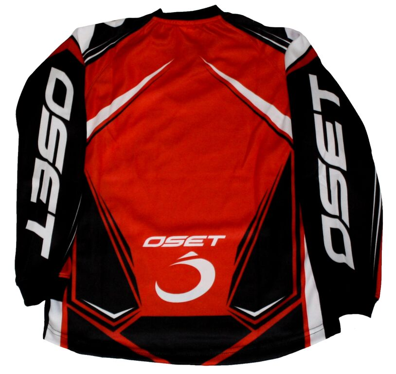 Oset Elite Shirts Kids Trials Clothing Red