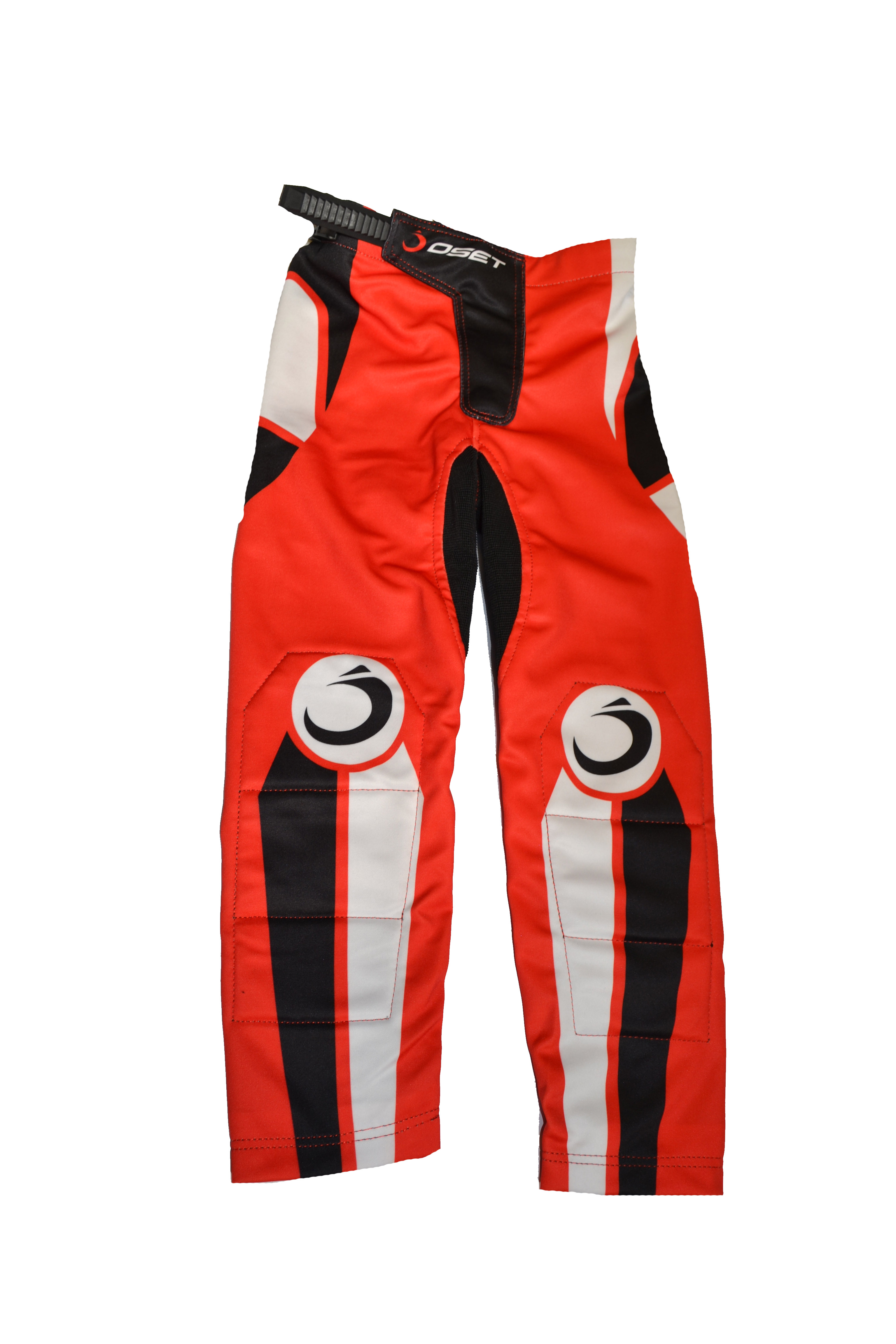 Oset Pro Range Kids Trials Pants/Jersey White/Red LAST OF LINE