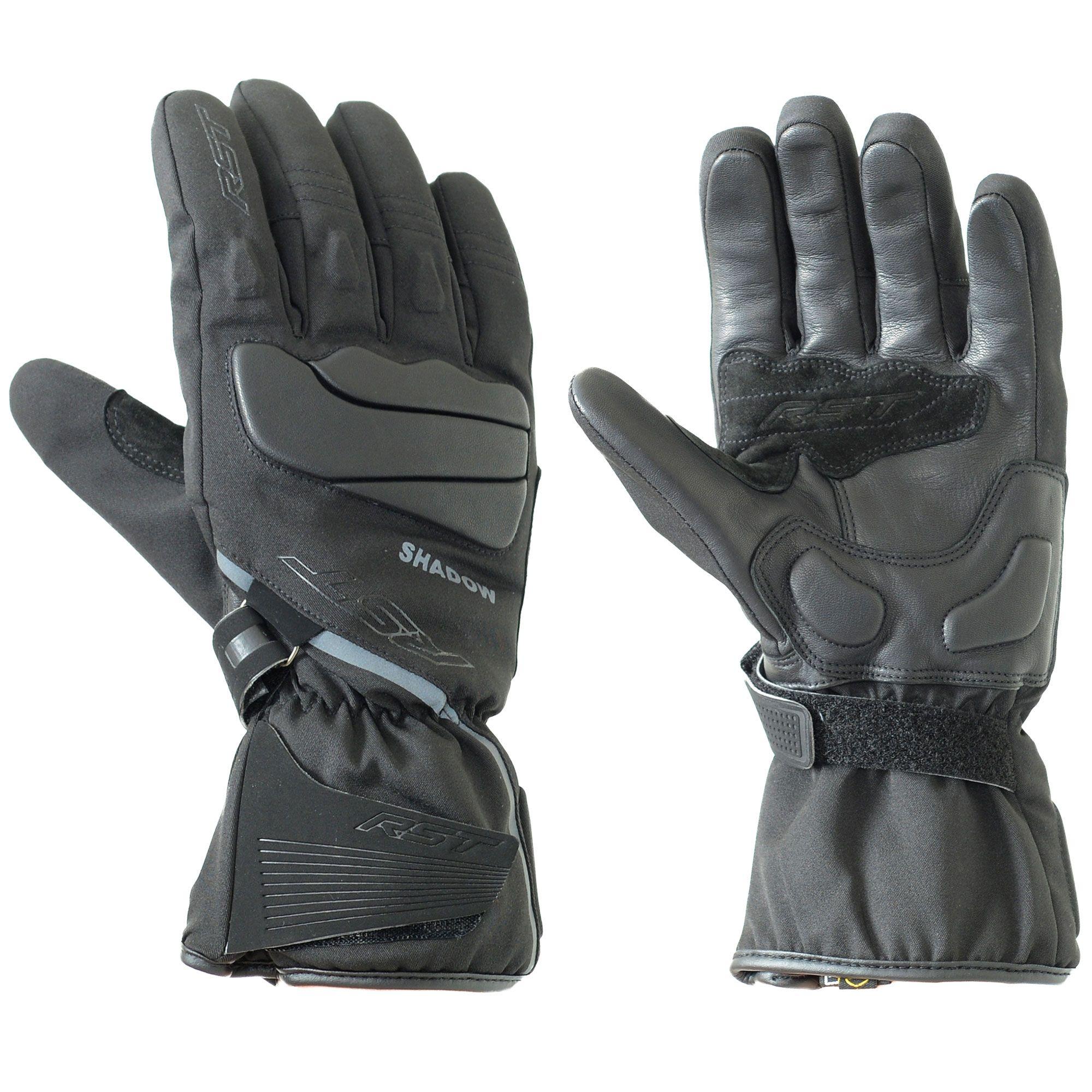 RST Shadow III Mens Waterproof Motorcycle Gloves