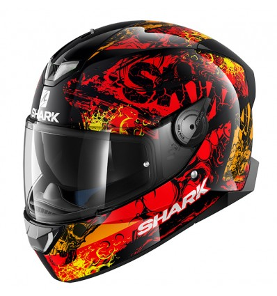 Shark Skwal 2 Nuk'Hem Motorcycle Helmet Red image