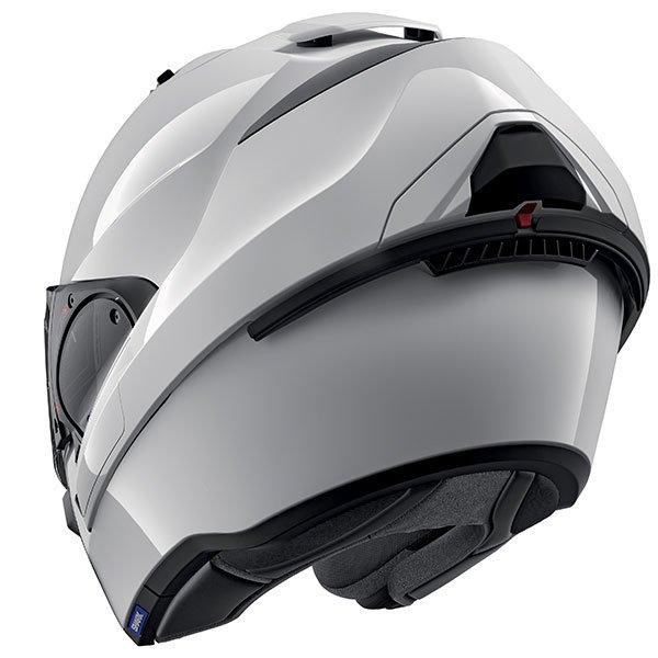 Shark Evo ES Blank Motorcycle Helmet (White)