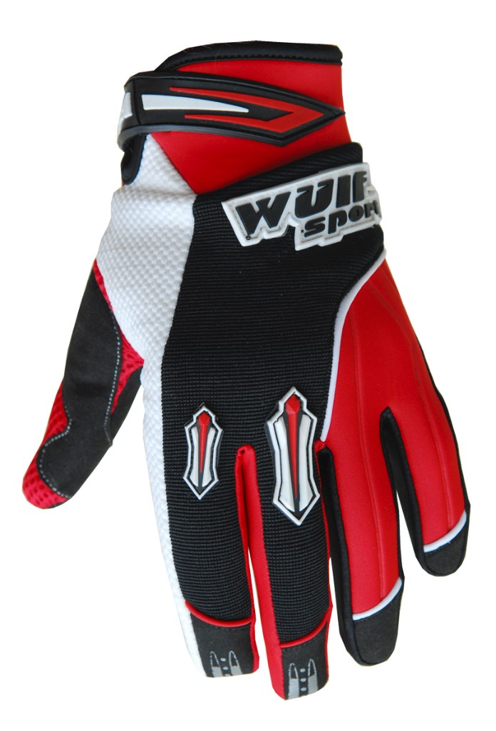 Wulfsport Kids Stratos Gloves Blue/Black/Red
