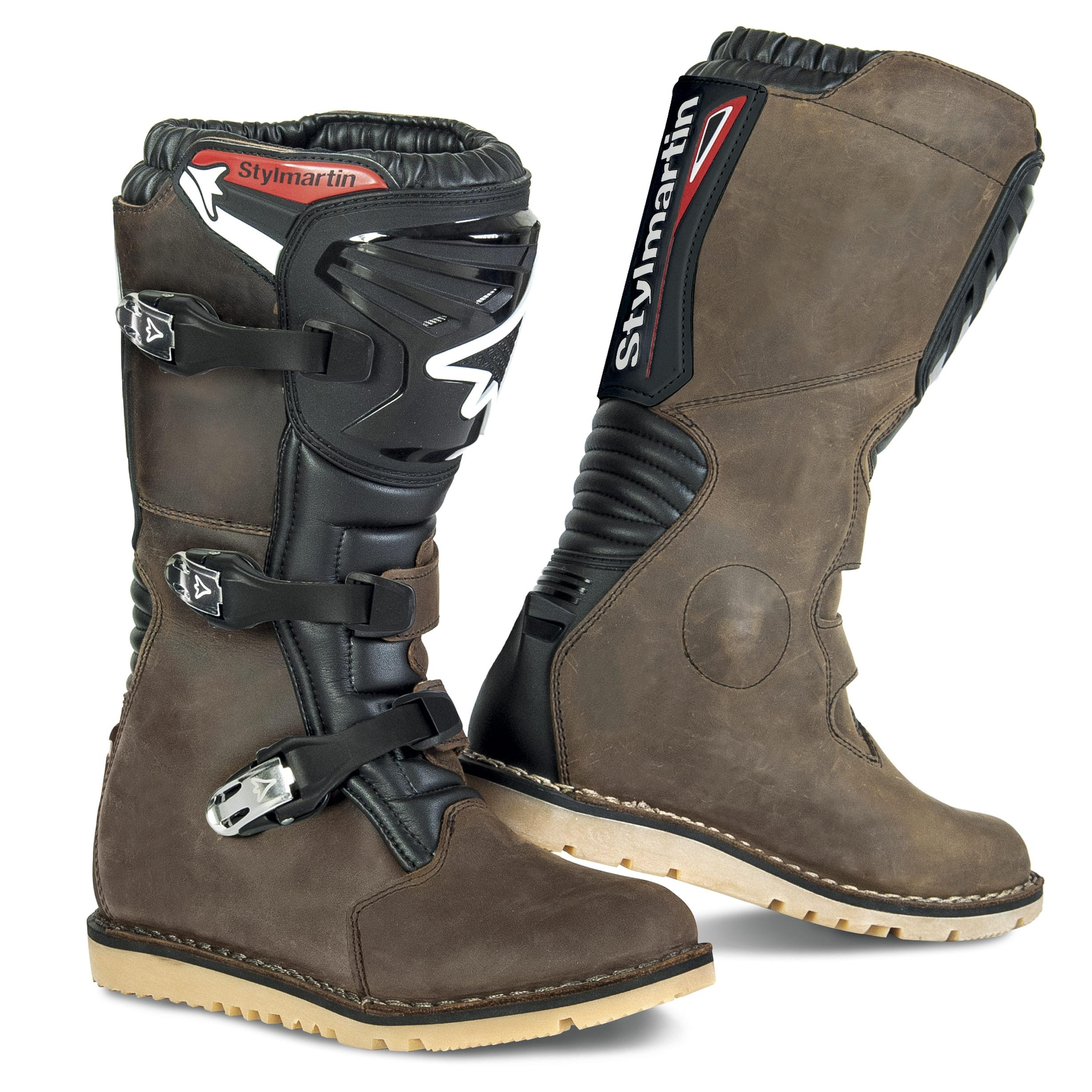 Stylmartin Impact RS Trial Boots Brown