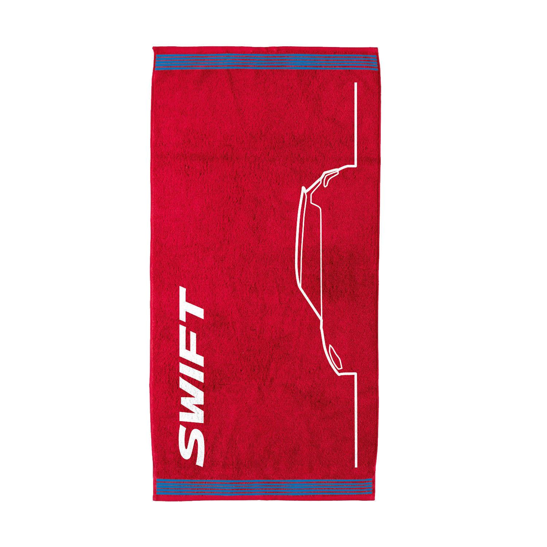 Suzuki Swift Beach Towel Red