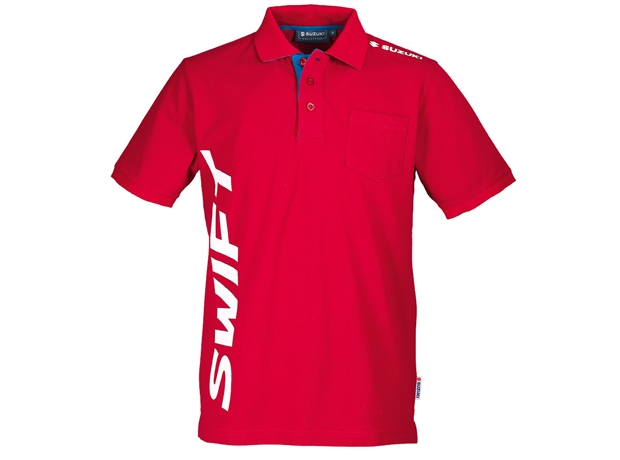 Suzuki Swift Polo Shirt Red
